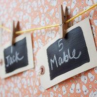 Chalkboard Escort Cards