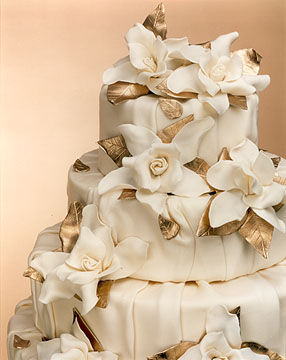 Cakes, gold, cake