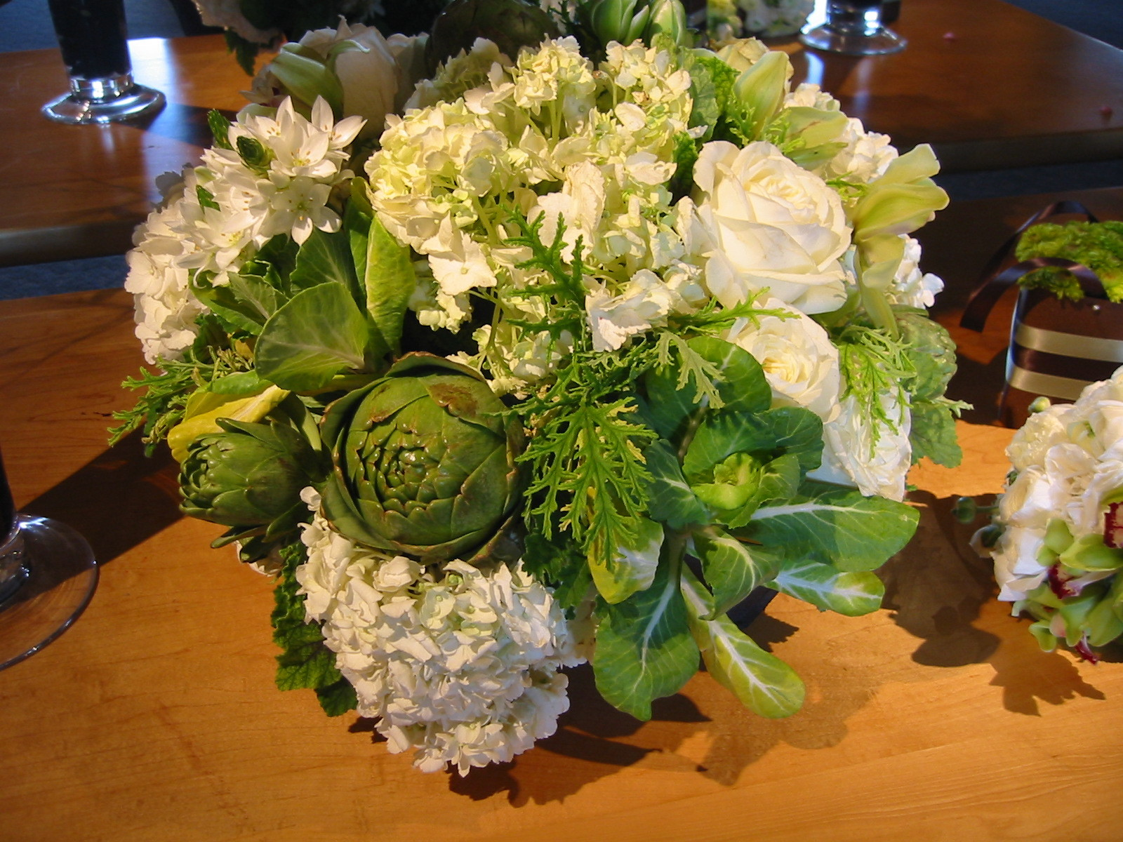 Flowers & Decor, white, green, brown, Bride Bouquets, Flowers, Flower, Bouquet
