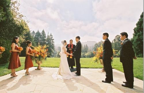 Ceremony, Flowers & Decor, yellow, orange, red, gold, Fall, Wedding party, Sasha souza events, Red velvet