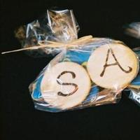 Favors & Gifts, blue, Favors, Cookies, Cal