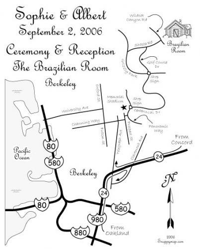 Stationery, invitation, Invitations, Map