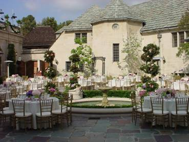Ceremony, Reception, Flowers & Decor, gray, Outdoor, Grey, Mansion