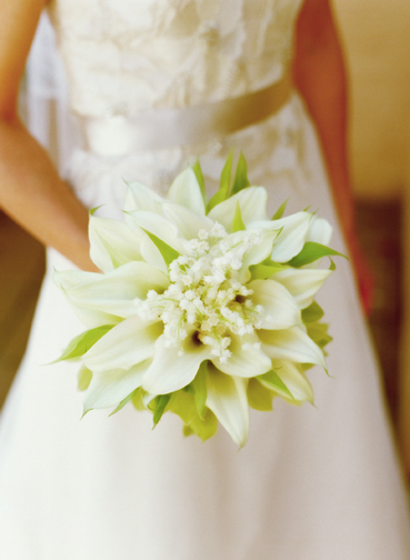 Flowers & Decor, white, Bride Bouquets, Flowers, Bouquet, Calla lily, Lily of the valley, Lisa lefkowitz