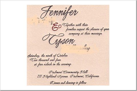 Calligraphy, Stationery, invitation, Invitations