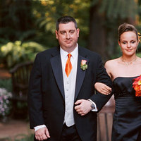 Bridesmaids, Bridesmaids Dresses, Fashion, orange, black, Groomsmen