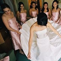 Bridesmaids, Bridesmaids Dresses, Wedding Dresses, Fashion, pink, dress, Bride