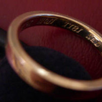 Ring, Ring engraving