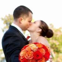 Flowers & Decor, orange, red, Bride Bouquets, Flowers, Bouquet