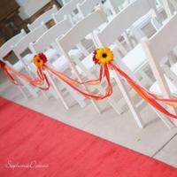 Ceremony, Flowers & Decor, yellow, red, Ceremony Flowers, Flowers