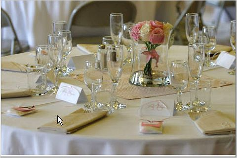 Reception, Flowers & Decor, pink, Centerpieces, Flower, Centerpiece