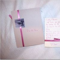 DIY, pink, Thank you cards