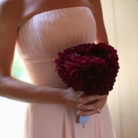 Flowers & Decor, Bridesmaids, Bridesmaids Dresses, Fashion, pink, red, Bridesmaid Bouquets, Flowers, Brides bouquet, Flower Wedding Dresses