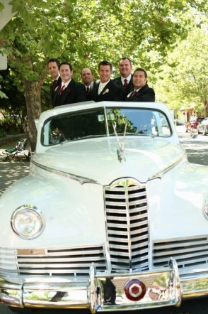 Groomsmen, Car, Transportation