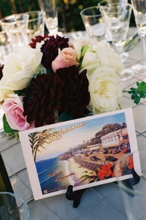 Reception, Flowers & Decor, Centerpieces, Flowers, Centerpiece, Postcard, Table