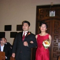Ceremony, Flowers & Decor, red, Bridesmaid