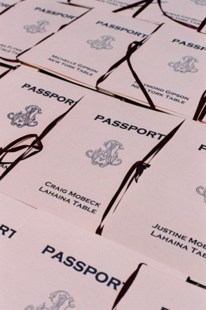 Table Numbers, Passports