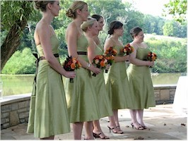 Bridesmaids, Bridesmaids Dresses, Fashion, green