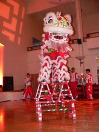 Entertainment, Lion dance