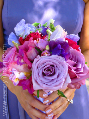 Flowers & Decor, red, purple, Bride Bouquets, Flowers, Bouquet, Nancy liu chin
