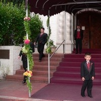 Reception, Flowers & Decor, Decor, Flowers, Entrance