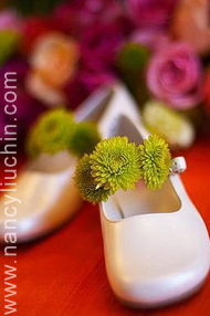 Flowers & Decor, Shoes, Fashion, white, green, Flowers, Nancy liu chin, Flower Wedding Dresses