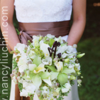 Flowers & Decor, white, green, Bride Bouquets, Flowers, Bouquet, Nancy liu chin