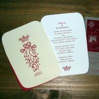 Stationery, red, invitation, Invitations