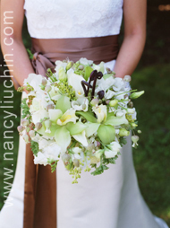Flowers & Decor, white, green, Bride Bouquets, Flowers, Bouquet, Nancy liu chin