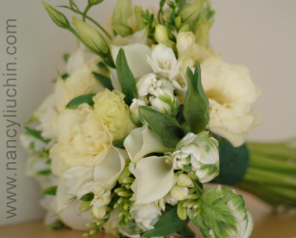 Flowers & Decor, white, green, Flowers, Nancy liu chin