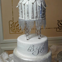 Cakes, white, silver, cake, Winter