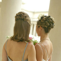 Beauty, Half-up, Updo, Hair