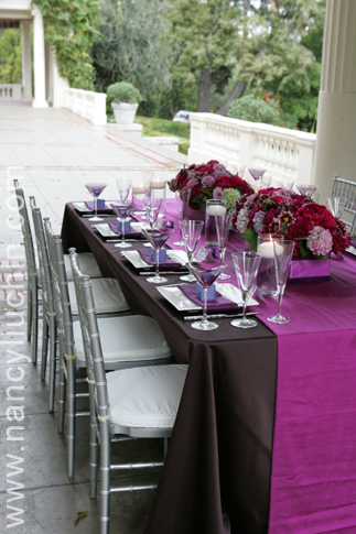 Reception, Flowers & Decor, purple, Centerpieces, Flowers, Centerpiece, Nancy liu chin