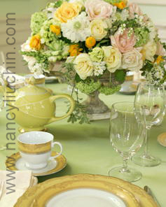 Flowers & Decor, white, yellow, Centerpieces, Flowers, Centerpiece, Nancy liu chin