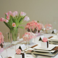 pink, Garden Wedding Flowers & Decor, Glam Wedding Flowers & Decor