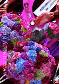 Flowers & Decor, pink, purple, blue, Flowers, Nancy liu chin