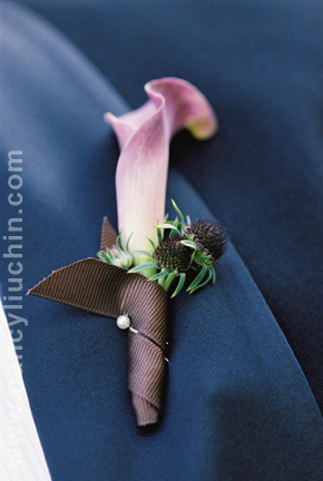 Boutonnieres, Rustic Wedding Flowers & Decor