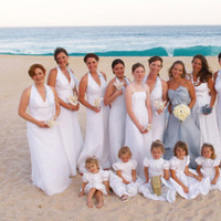 Bridesmaids, Bridesmaids Dresses, Beach Wedding Dresses, Fashion, Beach, Ocean