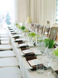 Reception, Flowers & Decor, white, green, Nancy liu chin