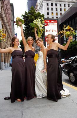 Bridesmaids, Bridesmaids Dresses, Fashion, brown