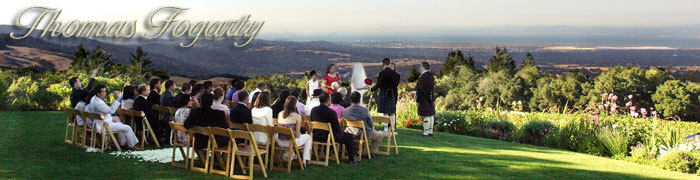 Ceremony, Flowers & Decor, Thomas fogarty winery