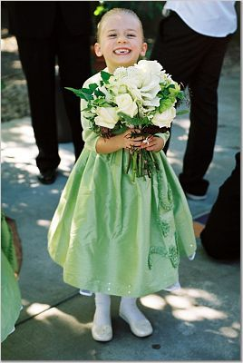 Flowers & Decor, Flower Girls, white, green, Bride Bouquets, Flowers, Bouquet