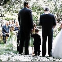 Ceremony, Flowers & Decor, Flower Girls, Wedding Dresses, Fashion, white, green, dress, Ring bearers