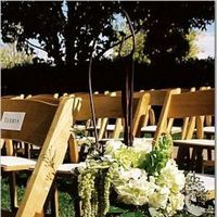 Flowers & Decor, white, green, Aisle Decor, Vineyard Wedding Flowers & Decor
