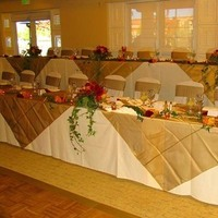 Reception, Flowers & Decor, gold, Dublin ranch golf course