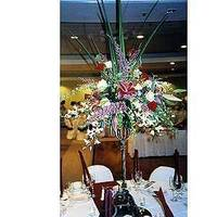 Reception, Flowers & Decor, Centerpieces, Flowers, Centerpiece, Cattails