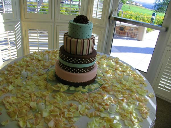 Cakes, pink, blue, brown, cake, Dublin ranch golf course