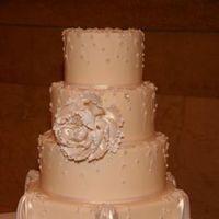 Cakes, white, cake, Fleur de lisa