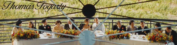 Reception, Flowers & Decor, Thomas fogarty winery