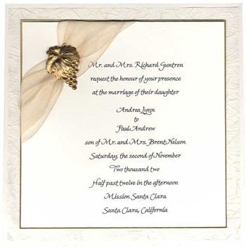 Stationery, Invitations, Inprint, Beige, Grape